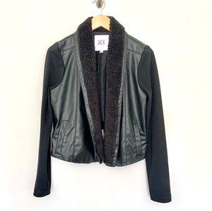 Jack by BB Dakota Faux Leather Jacket.